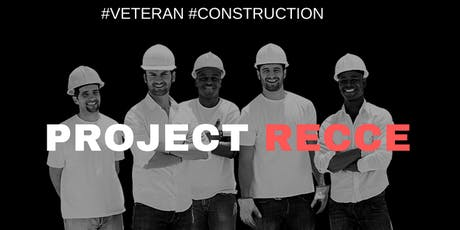 Project RECCE Networking Event | Construction careers | Ex-military tickets