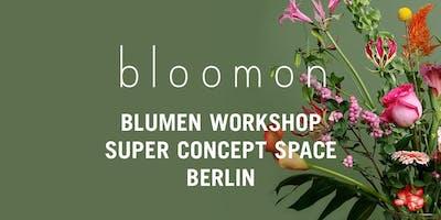 bloomon Workshop 19. Dezember | Berlin, SUPER conc
