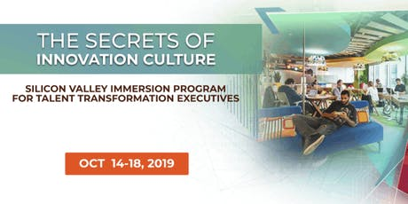 The Secrets of Innovation Culture | Executive Program | October tickets