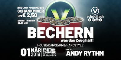 Fridays Red-Cup-Party: So bechert man @ V