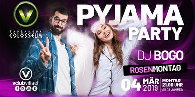 Pyjama Party im V-Club Villach