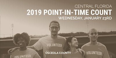 Central Florida 2019 Point-In-Time Count (Osceola County)
