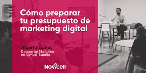 Cómo preparar tu presupuesto de marketing digital