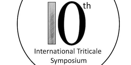10th International Triticale Symposium -Lethbridge, Canada