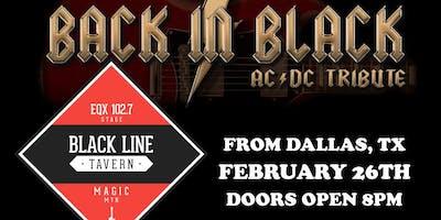 Back In Black at the BLT