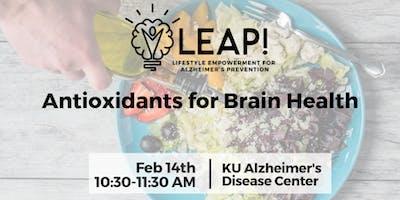 LEAP! Antioxidants for Brain Health