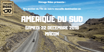 Warm up Macon : Amérique du Sud X Vintage Rides