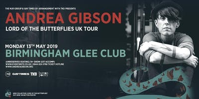 Andrea Gibson - Lord of The Butterflies Tour  (The Glee Club, Birmingham)