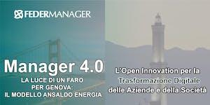 MANAGER 4.0 Open Innovation per la Trasformazione...