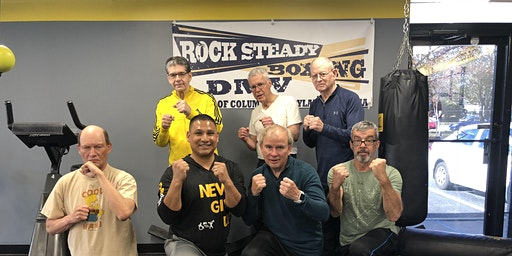 Monday-Rock Steady Boxing (For Parkinson's Clients) at DPI Adaptive Fitness ($25)