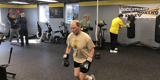 Wednesday-Rock Steady Boxing (For Parkinson's Clients) at DPI Adaptive Fitness ($25)