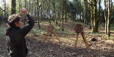 Axe throwing event (10 - 11.30am, 18 August 2019, near Cardiff)
