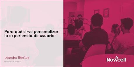 Para qué sirve personalizar la experiencia de usuario entradas
