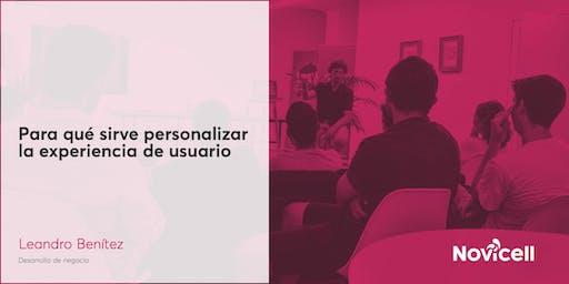 Para qué sirve personalizar la experiencia de usuario