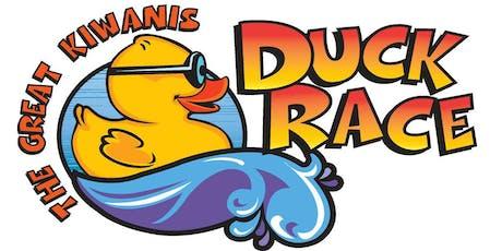 The Great Kiwanis Duck Race tickets