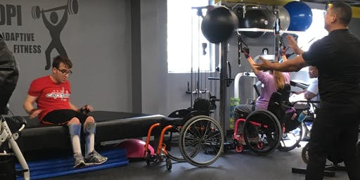 Wednesday-DPI Adaptive Open Gym ($20)