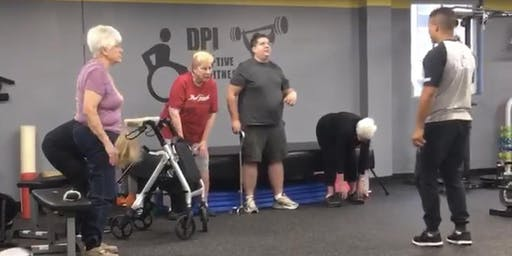 Thursday-DPI Adaptive Balance and Core Conditioning ($20)