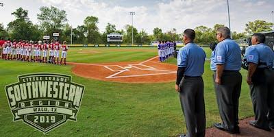 2019 Little League Southwest Region Umpire Rules Clinic