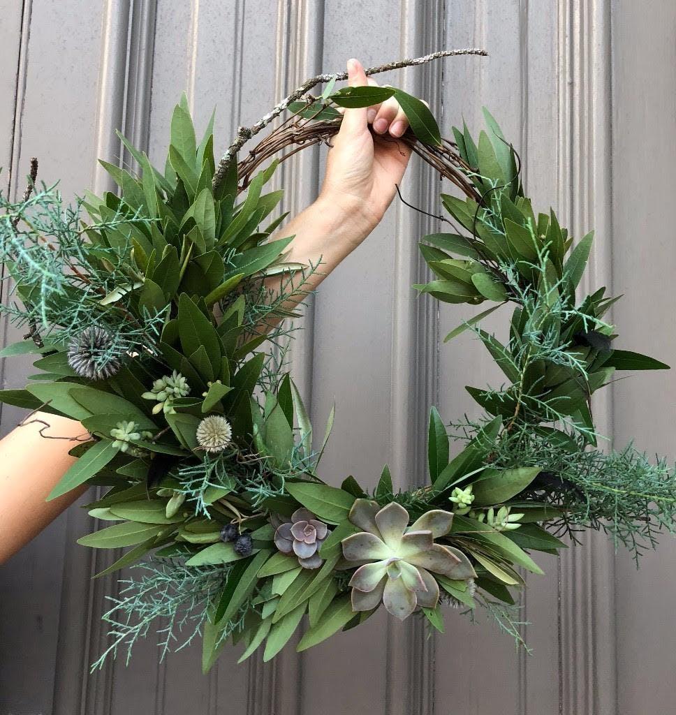Wreath Workshop with The Paris Market + Augus