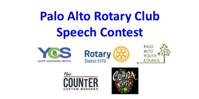 Palo Alto Rotary Club Speech Contest