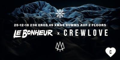 Le Bonheur x Crewlove X-Mas Bumms