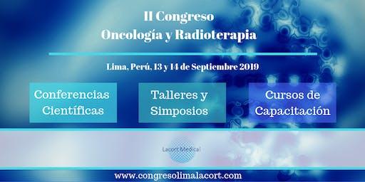 Congreso en Oncología y Radioterapia. Lima, Perú.