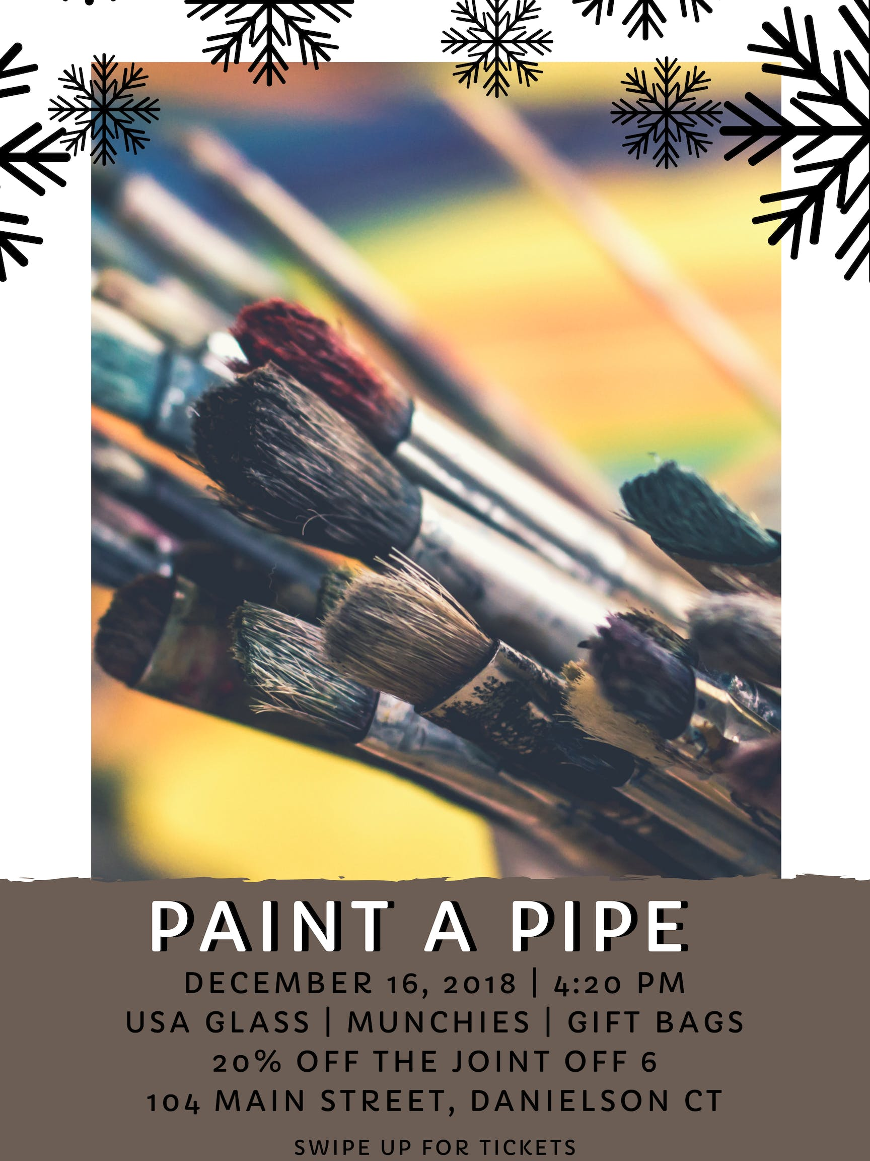 Christmas Paint A Pipe