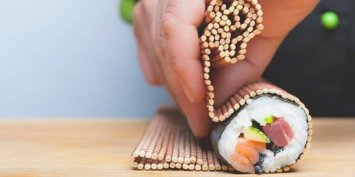 Roll like a pro! Hand-rolled sushi class with Chef Dillion