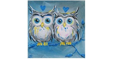 Paint Party at The Olive Garden in North Richland Hills I 02.05.19