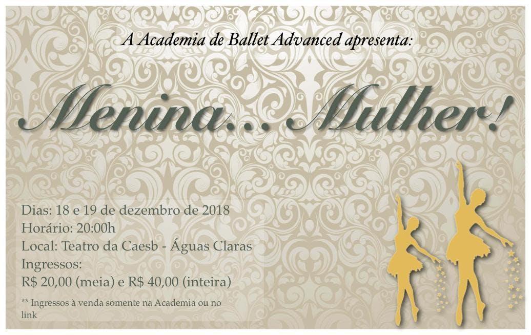 Menina... Mulher! - XLII Festival de Ballet d