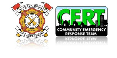 Community Emergency Response Team (CERT) basic training in Emeryville