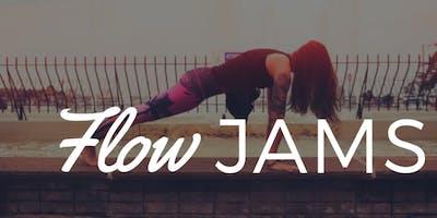 Flow Jams Yoga Class