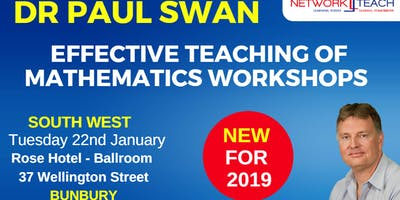 Paul Swan | Effective Teaching of Mathematics within the Number & Algebra Strand Workshop (South West)