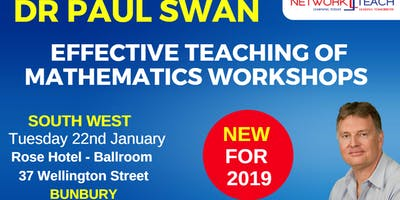 Paul Swan - Effective Teaching of Mathematics within the Measurement & Geometry Strand Workshop (South West)