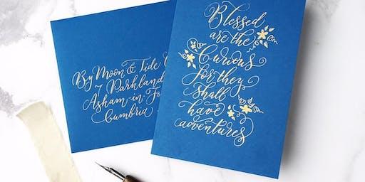 Combined Beginner's Brush Lettering & Modern Calligraphy