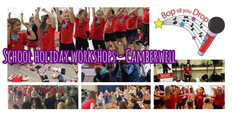 2019 July Bop till you Drop School Holiday Workshop - CAMBERWELL Performance Workshop for Children (2 days) BOOK EARLY AND SAVE! tickets