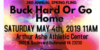 3rd Annual Spring Fling Buck Hard or Go Home Majorette Dance Competition