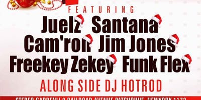 MERRY DIPMAS W/ Juelz Santana Camron jim jonez Funk Flex & More Dipset @ Stereo Garden