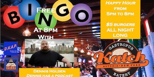 Katch Astoria Free Bingo and $5 Burger Wednesdays