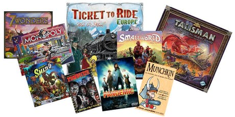 Boardgame Day - School Holidays - Orange City Library tickets