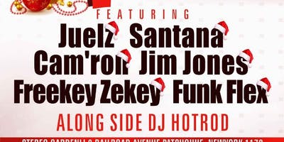 MERRY DIPMASS W/ Juelz Santana Camron jim jonez Funk Flex & More Dipset @ Stereo Garden
