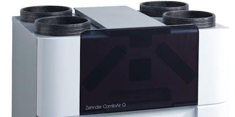 Training Zehnder ComfoAir Q en Zehnder ComfoAir E; de nieuwe standaard in WTW tickets