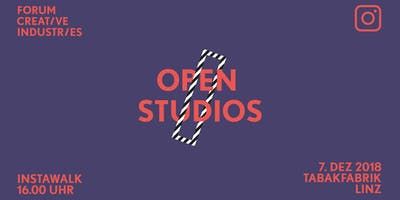InstaWalk Open Studios - LINZ - Tabakfabrik