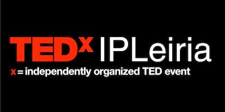 TEDxIPLeiria bilhetes