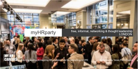 myHRparty 02.10.19 London tickets