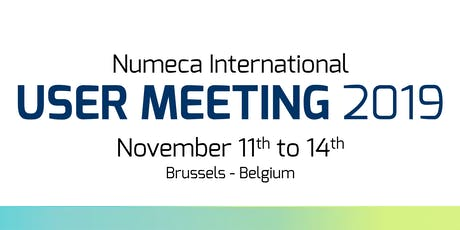 NUMECA USER MEETING 2019 - Speaker Registrations tickets