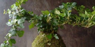 KOKEDAMA LAB: breve workshop sull'arte giapponese delle piante sospese