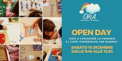 Open Day Spazio Montessori Oplà - Iscriviti all'evento