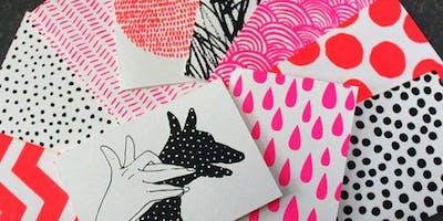 Fabrique ta mini carte de vœux kitsch !