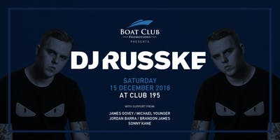 Boat Club Presents DJ Russke
